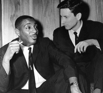 Dick Gregory and Tim Boxer at the Chicago Playboy Club 1961