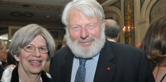 Theodore Bikel and Tamara Brooks
