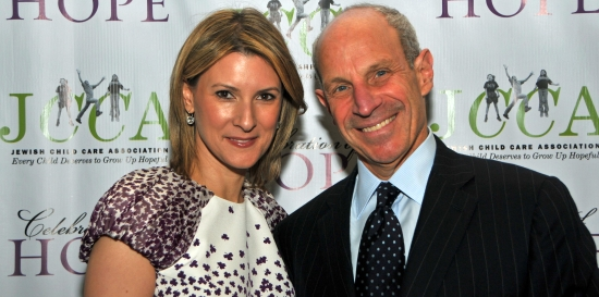 Jonathan Tisch and wife Lizzie