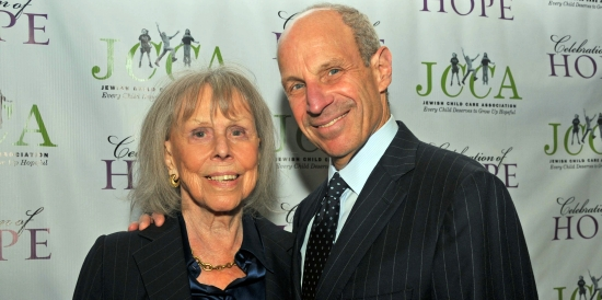Jonathan Tisch and mother Joan
