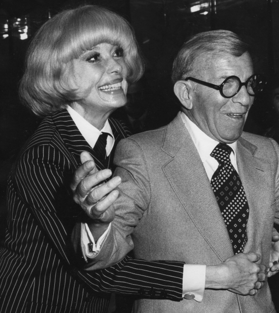 Carol Channing george burns
